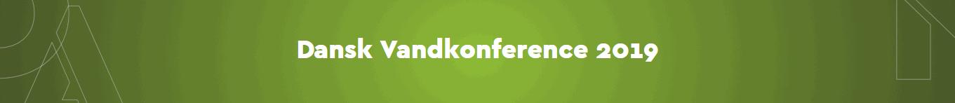 Dansk Vandkonference 2019 Logo